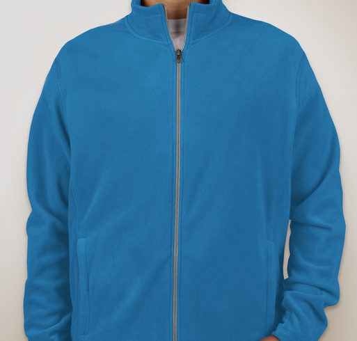 Harriton Fleece-Lined Nylon Jacket