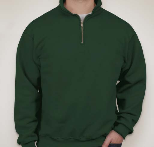 JERZEES SUPER SWEATS - 1/4-Zip Sweatshirt with Cadet Collar