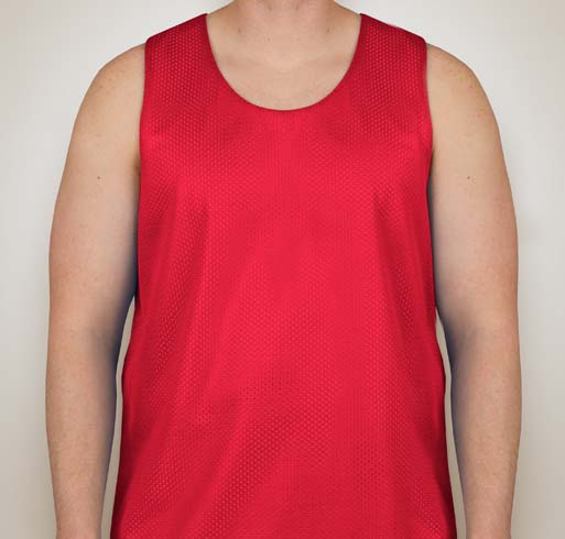 A4 Adult Reversible Mesh Tank Shirt